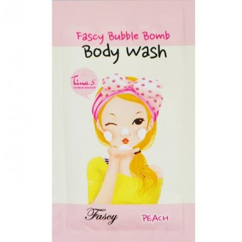 ФС Moisture Bomb Гель для душа персиковый пробник ( Sample) Bubble Bomb Body Wash Peach, 1 гр.