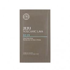 Очищающий пластырь Jeju Volcanic Lava Aloe Nose Strips с алоэ вера для носа, 7 шт.