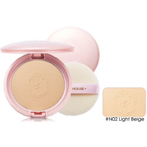 Минеральная пудра Etude House Precious Mineral BB Compact Cover Fit Light Beige N02, 10 гр.