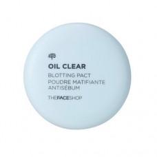 Компактная пудра против жирного блеска Oil Clear Blotting Pact, 9 мл