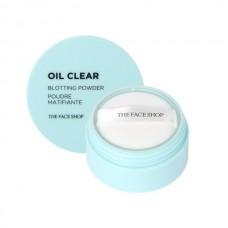 Рассыпчатая пудра для жирной кожи Oil Clear Blotting Powder, 6 мл