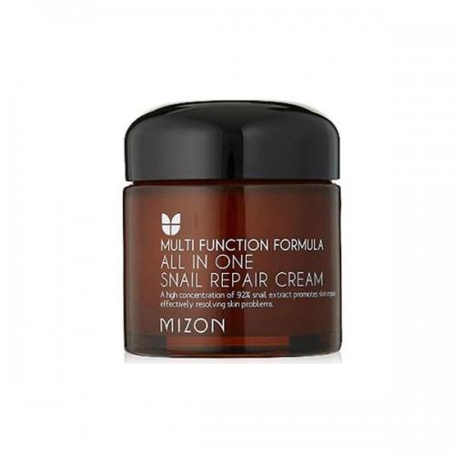 Восстанавливающий крем Mizon All In One Snail Repair Сream с экстрактом улитки, 120 мл
