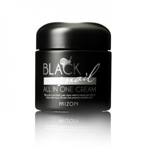 Крем Mizon Black Snail All In One Cream с экстрактом черной улитки, 75 мл
