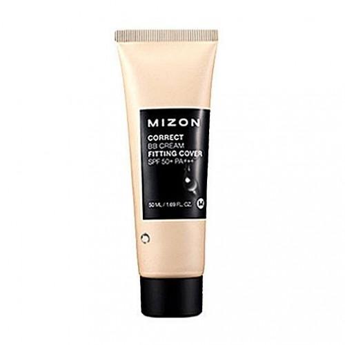 Корректирующий ББ крем с антивозрастным и увлажняющим эффектом Mizon Correct BB Cream Fitting Cover SPF 50+ PA+++, 50 мл