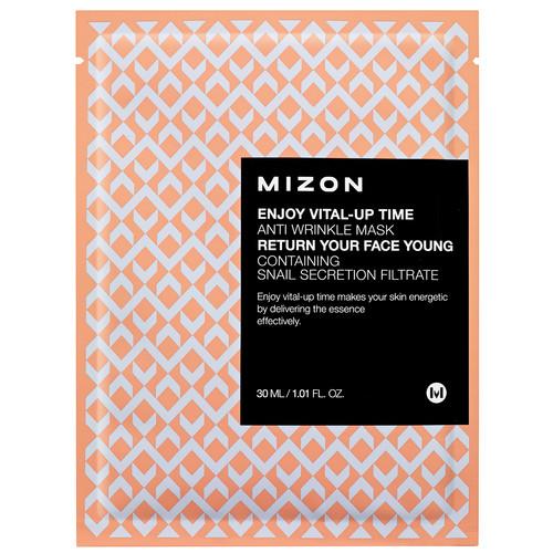 Маска листовая для лица антивозрастная Mizon Enjoy Vital Up Time Anti Wrinkle Mask, 30 мл