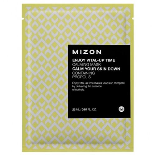 Успокаивающая тканевая маска для лица Mizon Enjoy Vital Up Time Calming Mask, 30 мл