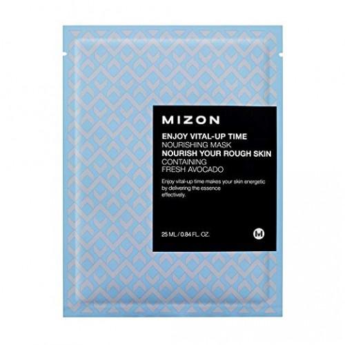 Тканевая питательная маска для лица Mizon Enjoy Vital Up Time Nourishing Mask, 30 мл