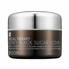 Скраб Mizon Honey Black Sugar Scrub с черным сахаром, 80 мл