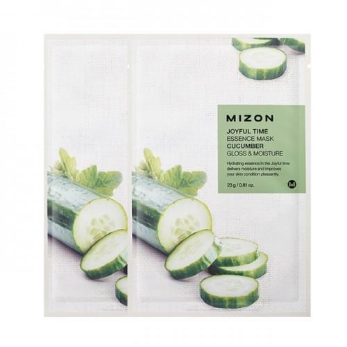 Тканевая маска для лица Joyful Time Essence Mask Cucumber с экстрактом огурца, 23 мл