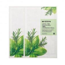 Тканевая маска для лица Joyful Time Essence Mask Herb с комплексом травяных экстрактов, 23 мл