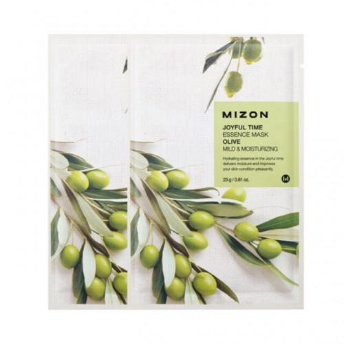 Тканевая маска для лица Joyful Time Essence Mask Olive с экстрактом оливы, 23 мл