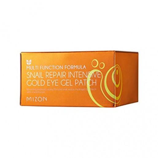 Гидрогелевые патчи Mizon Snail Repair Intensive Gold Eye Gel Patch с улиточным муцином, 60 шт.