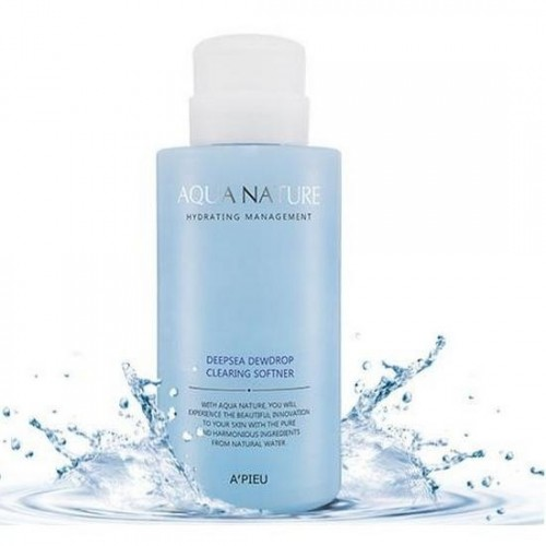 Софтнер для лица очищающий A'Pieu Aqua Nature Deep-Sea Dewdrop Clearing Softener, 500 мл
