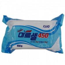 Мыло хозяйственное CLIO Marcel Soft Big Soap, 450 гр.