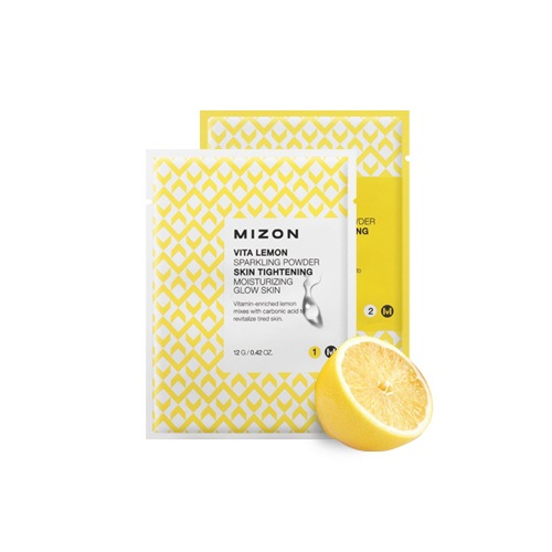 Очищающая пудра для лица Mizon Vita Lemon Sparkling Powder, 14 шт. по 29 гр.