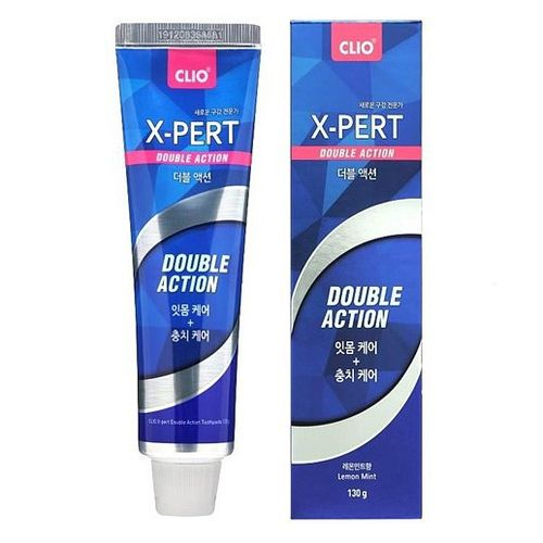 Зубная паста CLIO Expert Toothpaste Double Action, 130 гр.
