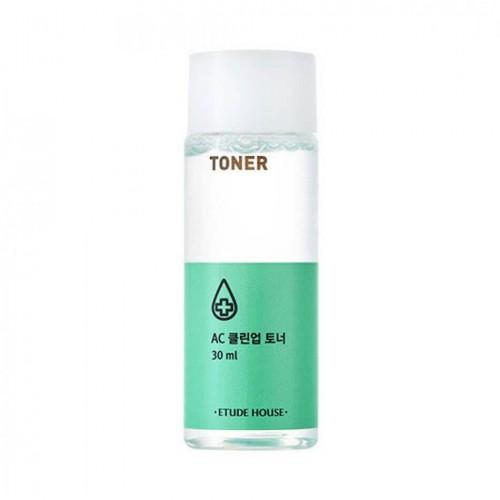 Тонер для проблемной кожи Etude House AC Clean Up Toner, 30 мл
