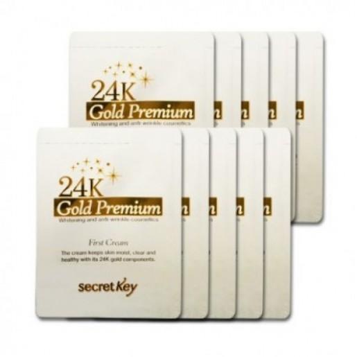 Пробник 24K Gold Premium First Cream, 2 мл