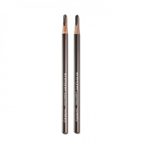 Карандаш для бровей Secret Key My Style Fit Eyebrow Pencil Gray Brown, 2,8 гр.