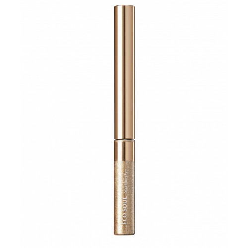 Тени для глаз сияющие The Saem Eco Soul Sparkling Eye 03 Golden Glamour, 2,7 гр.