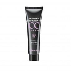 Подтягивающий пептидный CC крем Secret Skin Lifting Peptide CC Cream, 30 мл