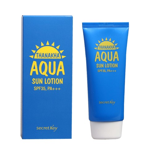 Увлажняющий солнцезащитный лосьон Secret Key Thanakha Aqua Sun Lotion, 15 гр.