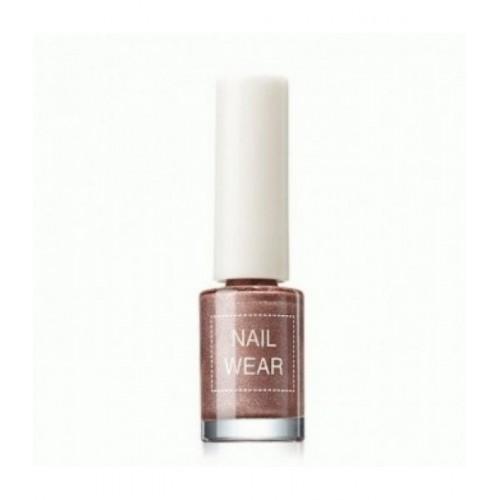 Лак для ногтей Nail Wear 20 Deep Brown, 7 мл