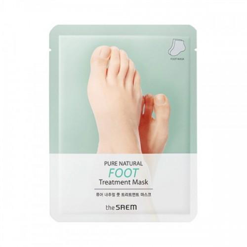 Маска для ног The Saem Pure Natural Foot Treatment Mask, 2 шт. по 8 гр.