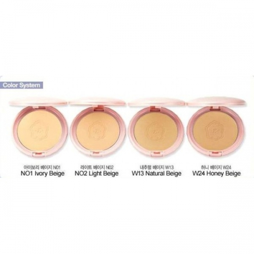 Минеральная пудра Etude House Precious Mineral BB Compact Cover Fit Natural Beige, 10 гр.