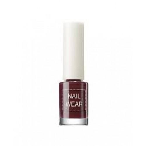 Лак для ногтей Nail Wear 68 Leather Red Wine, 7 мл