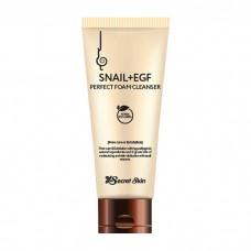 Пенка для умывания Secret Skin Snail & EGF Perfect Foam Cleanser с муцином улитки, 100 мл