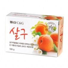 Мыло туалетное Clio Apricot Soap, 100 гр.
