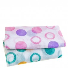 Мочалка для душа Sungbo Cleamy Circle Shower Towel 28 х 100 см, 1 шт.