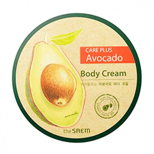 Крем для тела с экстрактом авокадо The Saem Care Plus Avocado Body Cream 300 мл.