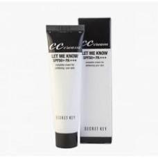CС крем для сухой кожи Secret Key Let Me Know CC Cream SPF50+ РА+++ , 30 мл