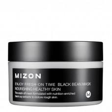 Антивозрастная маска с черными соевыми бобами MIZON Enjoy Fresh On-Time Black Bean Mask, 100 мл