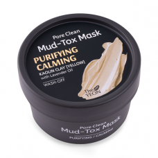 Маска для лица с каолиновой глиной TheYEON Pore Clean Mud-Tox Mask Yellow, 80 гр.