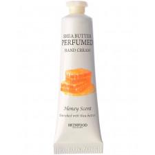 Крем для рук парфюмированый Skinfood Shea Butter Perfumed Hand Cream Honey Scent, 30 мл.