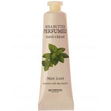 Крем для рук парфюмированый Skinfood Shea Butter Perfumed Hand Cream Mint Scent, 30 мл.
