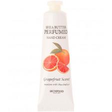 Крем для рук парфюмированый Skinfood Shea Butter Perfumed Hand Cream Grapefruit Scent, 30 мл.