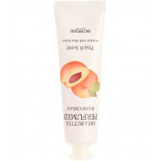 Крем для рук парфюмированый Skinfood Shea Butter Perfumed Hand Cream Peach Scent, 30 мл.