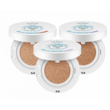 Увлажняющий кушон VILLAGE 11 FACTORY Real Fit Moisture Cushion SPF50+ PA+++ № 21 Medium Вeige, 15 г