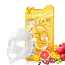 Тканевая маска с медом Elizavecca Deep Power Ringer Mask Pack Honey, 23 мл