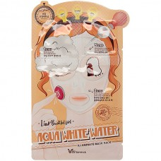 Маска увлажняющая Elizavecca Aqua White Water Illuminate Mask Pack, 25 мл/2*2 мл