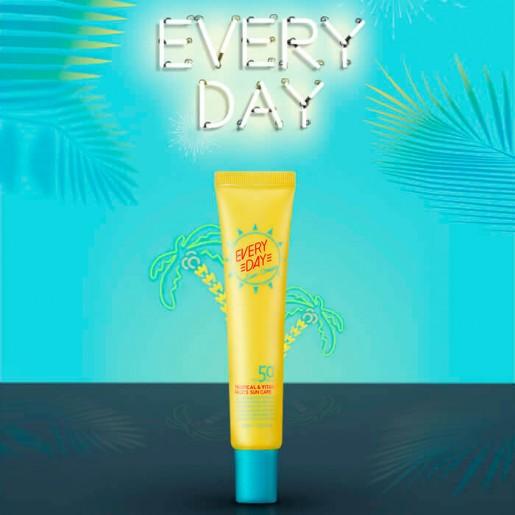 Солнцезащитный крем с экстрактом гуавы A'pieu Everyday Sun Cream, 30 мл.