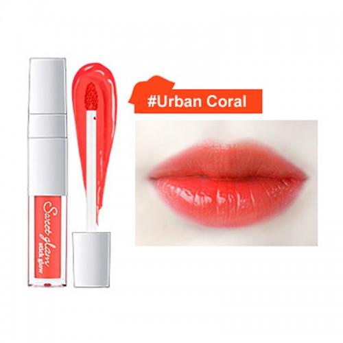 Тинт-флюид для губ Secret Key Sweet Glam Stick Glow Urban Coral, 3,5 гр.