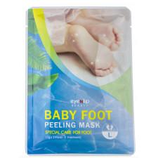 Носочки для педикюра Eyenlip Baby Foot Peeling Mask Large, 2 шт. по 17 гр.