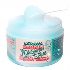 Увлажняющий гиалуроновый крем для лица Elizavecca Moisture Hyaluronic Acid Memory Cream, 100 мл