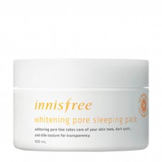 Ночная осветляющая и обновляющая маска для лица Innisfree Whitening Pore Sleeping Pack с витамином С, 100 мл
