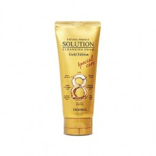 Пенка для умывания Deoproce Natural Perfect Solution Cleansing Foam Gold Edition, 170 гр.